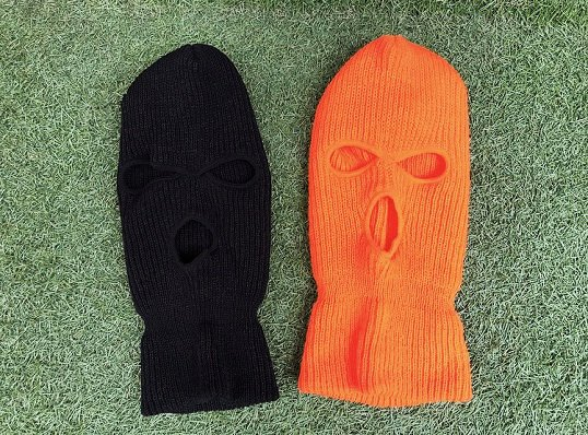 MADE IN USA 3HOLE SKI MASK
