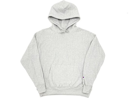 """Champion"" BOOK STORE REVERSE WEAVE HOODIE - US限定 (OXFORD GREY)"