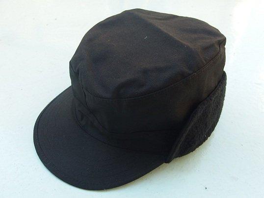 """ROTHCO"" EARFLAP MILITARY CAP (BLACK)"