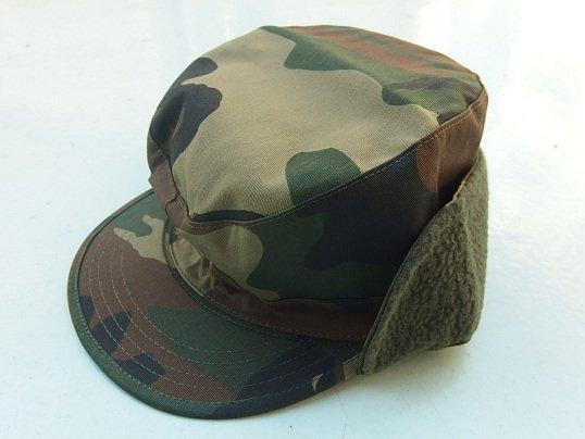 """ROTHCO"" EARFLAP MILITARY CAP (WOODLAND CAMO)"