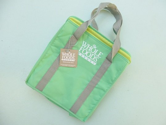 """WHOLE FOODS"" INSULATED BAG"