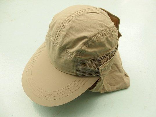 SUPPLEX NYLON LONGBILL CAP (KHAKI)
