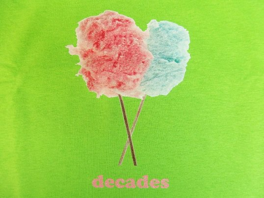 """THE DECADES"" COTTON CANDY ..."
