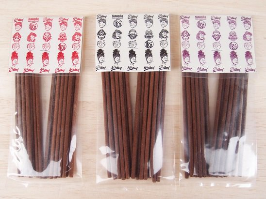 """PRILLMAL X KUUMBA"" INCENSE (RED / BLACK / PURPLE)"