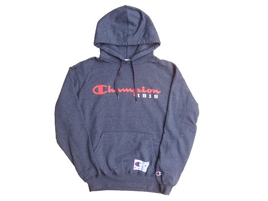 """Champion"" ORIGINAL LOGO HOODIE - US���� (HEATHER NAVY)"