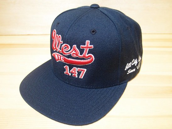 """""""WEST NYC �� STARTER"""" ALL CITY CHAMPS SNAP BACK (NAVY)"""