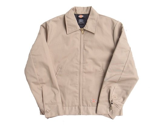"""DICKIES"" QUILTING LINED EISENHOWER JACKET (KHAKI)"