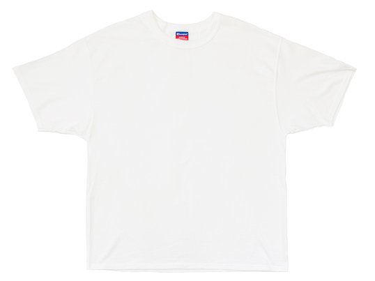 """Champion"" 7OZ. HEAVYWEIGHT TEE - US限定 (WHITE)"