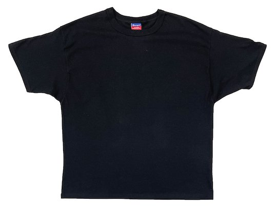 """Champion"" 7OZ. HEAVYWEIGHT TEE - US限定 (BLACK)M〜XL"