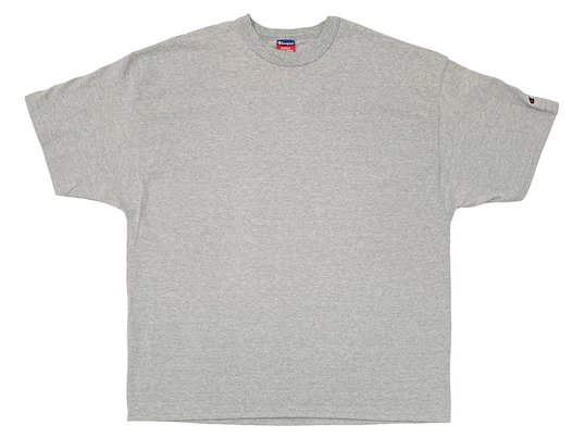 """Champion"" 7OZ. HEAVYWEIGHT TEE - US限定 (OXFORD GREY)M〜XL"