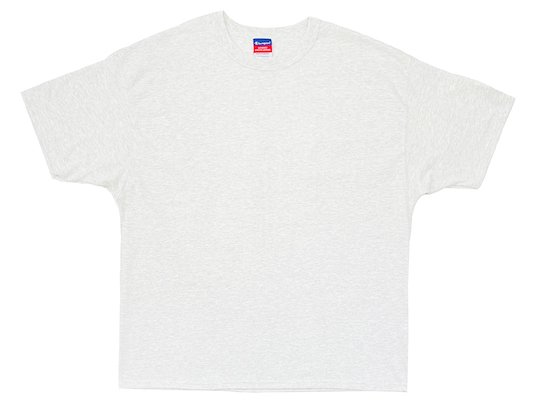 """Champion"" 7OZ. HEAVYWEIGHT TEE - US限定 (SILVER GREY)M〜XL"