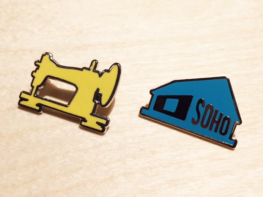 """THE APARTMENT"" ENAMEL PINS"