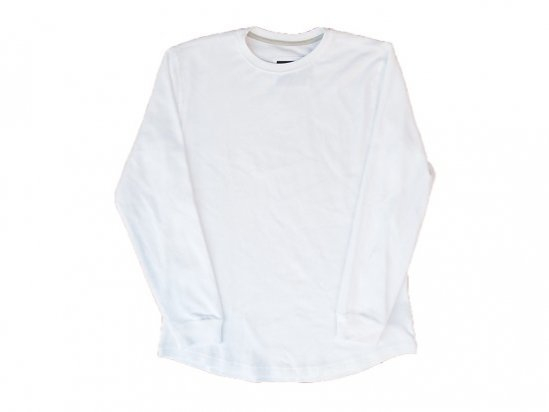 """CHAMPS"" L/S THERMAL - ROUND TAIL (WHITE)"
