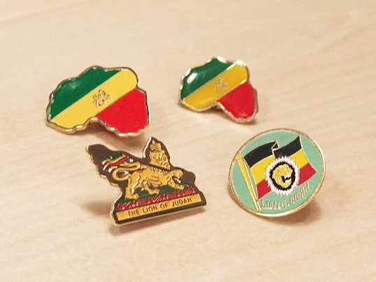 THE LION OF JUDAH PINS