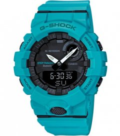 G-SHOCK【GBA-800-2A2JF】G-SQUAD ライトブルー