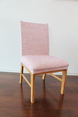 スペイン製ストレッチチェアカバー(椅子カバー):ツイード 2枚組2400円より