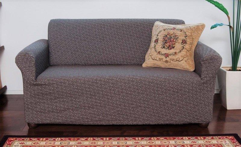【縦横ストレッチ】スペイン製ソファーカバー:ロサリオ【アーム付】4600〜8000円