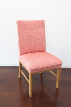 【横ストレッチ】スペイン製チェアカバー(椅子カバー):ラビリンス座面2枚組2700円又は背付2枚組4020円