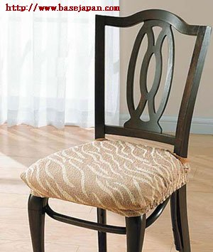 ストレッチチェアカバー(椅子カバー):座面4枚3,000円均一「ファンタジー」