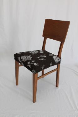 ストレッチチェアカバー(椅子カバー):ティルダ 座面2枚組2800円又は背付3600円