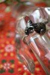 USA Vintage《Matt Silver Mouse》尾っぽが巻きつくネズミさんリング★(ヴィンテージリング/アニマル)【送料80円/メール便】