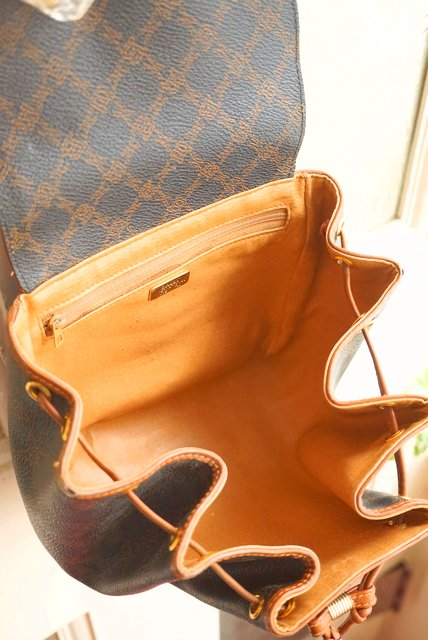 ITALY製OLD BALLY☆PUMPKIN DRAW-STRING SMALL SHOULDER BAG(バリー/ヴィンテージ/巾着バッグ)