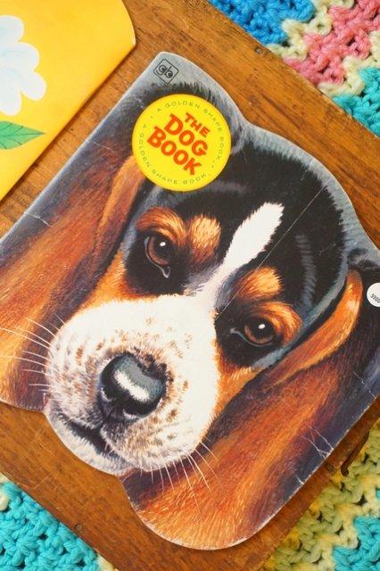 "USA☆1964年製《ヴィンテージ/ダイカット絵本》""THE DOG BOOK""【送料80円】"