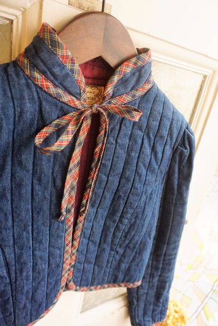 "USA VINTAGE《GUNNIES》""SWEET COUNTRY STYLE""  QUILTING BOLERO JACKET(ガニサックス/ヴィンテージ)"