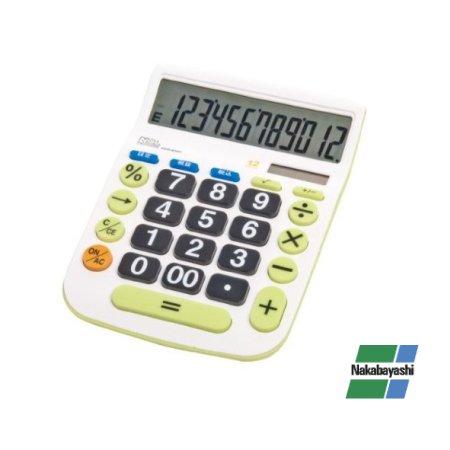 電卓 大画面表示 12桁 ECD-8503G