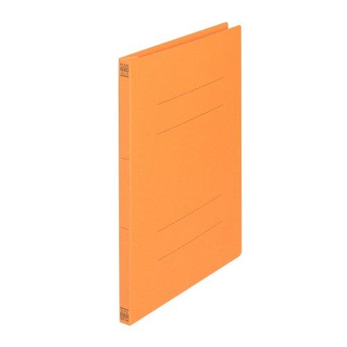 フラットファイル A4S オレンジ 10冊...