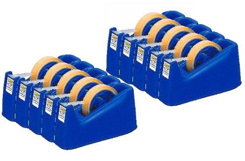 テープカッター ブルー 10個セット CR501-BL×10