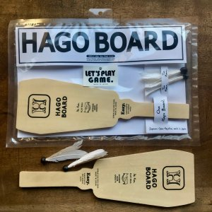 JAPANESE WOODEN TOY HAGO BOARD