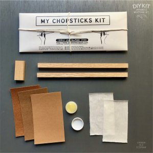 JAPANESE CHOP STICKS WHITTLING DIY KIT