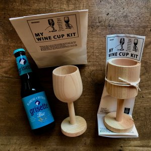 JAPANESE WINE CUP WHITTLING DIY  KIT