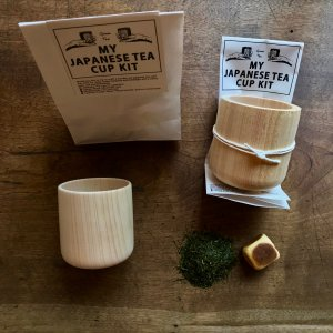 JAPANESE TEA CUP WHITTLING DIY  KIT