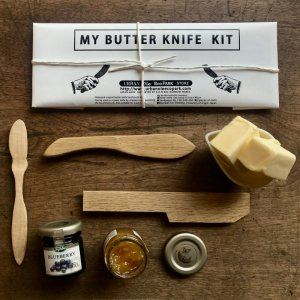 JAPANESE BUTTER KNIFE WHITTLING DIY KIT