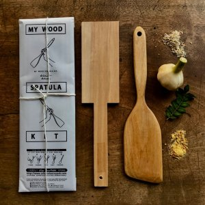 JAPANESE   SPATULA   WHITTLING  DIY   KIT