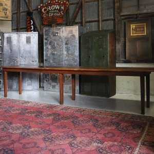 〜40s US NAVAL HOSPITAL WOODEN TABLE