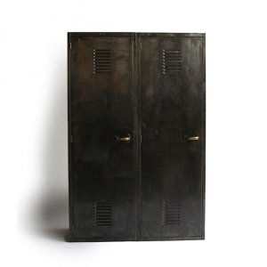 WW2 US NAVY METAL LOCKER