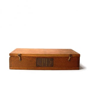 WW1 US NAVAL FACTORY WOOD BOX