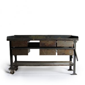 WW2 US ARMY WORK TABLE