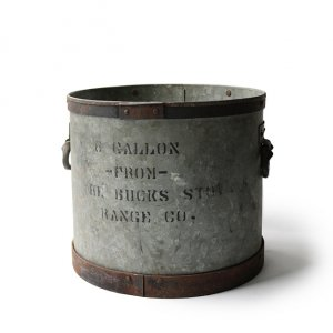 LATE 1800S THE BUCKS STOVE AND RANGE CO, COAL BUCKET