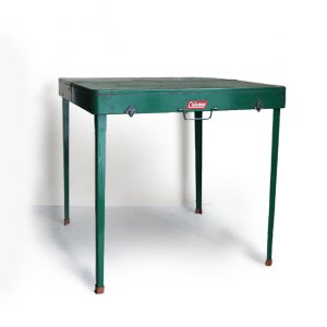 OLD COLEMAN 640 PICNIC TABLE SET