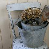 【SOLD】old bucket of tinplate (B)古いブリキのバケツ