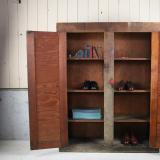 antique shoe rack 古い収納棚