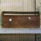 【SOLD】antique garden tool box 古い道具箱