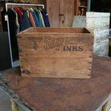 【SOLD】old wood box sunfords 古い木箱
