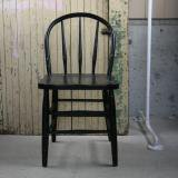old paint chair (black) 古い椅子黒