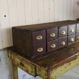 【SOLD】early century Assortment shelf 古い仕分け棚
