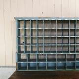 us post office Assortment shelf  郵便局古い仕分け棚